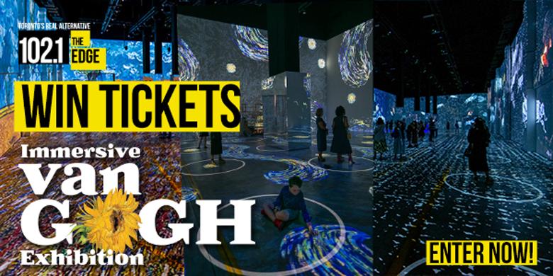 Win Tickets To The Immersive Van Gogh Exhibit