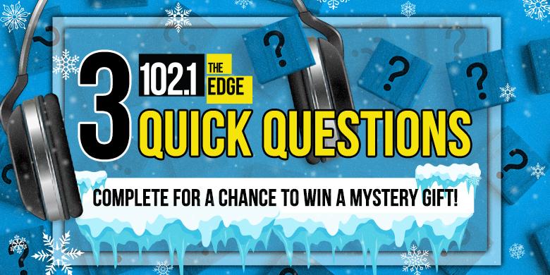 3 Quick Questions